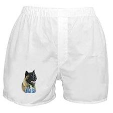 Akita Name Boxer Shorts