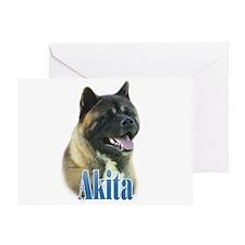 Akita Name Greeting Card