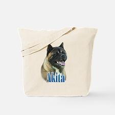 Akita Name Tote Bag