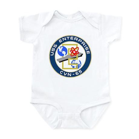 USS Enterprise (CVN 65) Infant Bodysuit