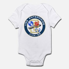 USS Enterprise (CVN 65) Infant Bodysuit