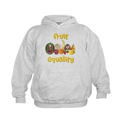 Fruit Equality Kids Hoodie