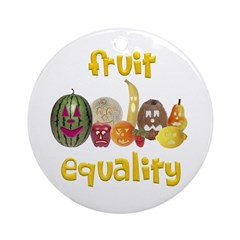 Fruit Equality Ornament (Round)