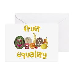 Fruit Equality Greeting Card