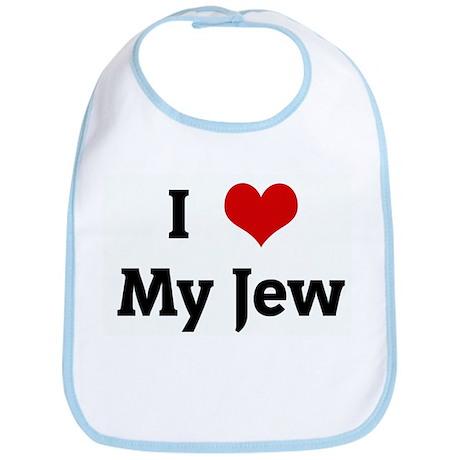 I Love My Jew Bib