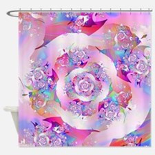 Cute Fractal vicky Shower Curtain