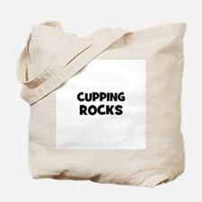 Cupping Rocks Tote Bag