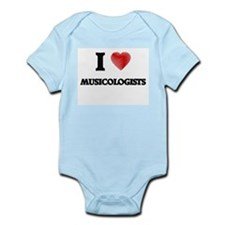 I love Musicologists (Heart made from wo Body Suit