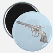 Toy Gun Vintage Print Magnet