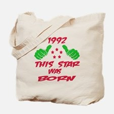 1992 This star was born Tote Bag