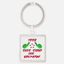 1998 This star was born Square Keychain