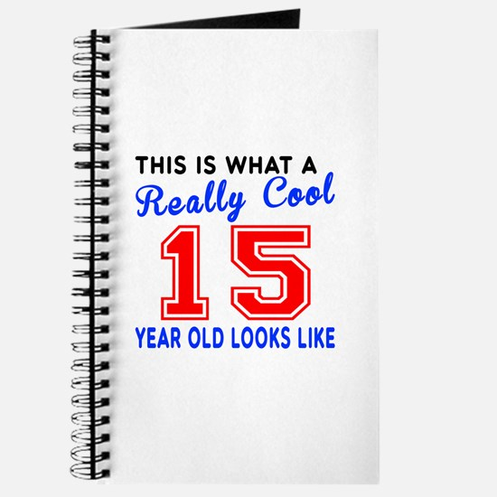 Really Cool 15 Birthday Designs Journal