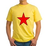 Soviet - Era Russian Yellow T-Shirt