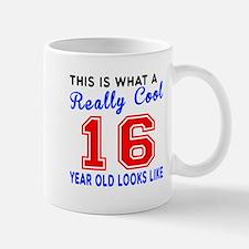 Really Cool 16 Birthday Designs Small Small Mug