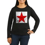 Soviet - Era Russian Women's Long Sleeve Dark T-S