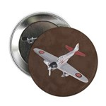 "Vintage WWII Aircraft Art 2.25"" Button (10 pack)"