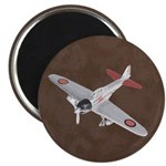"""Vintage WWII Aircraft Art 2.25"""" Magnet (10 pack)"""