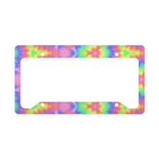 Colorful Seemless Pattern License Plate Holder