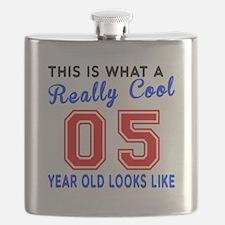 Really Cool 05 Birthday Designs Flask