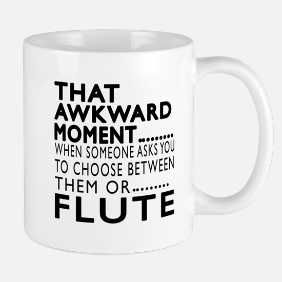 Flute Awkward Moment Designs Mug