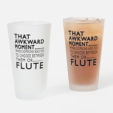 Flute Awkward Moment Designs Drinking Glass