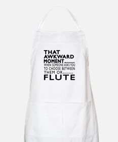 Flute Awkward Moment Designs Apron