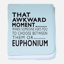 Euphonium Awkward Moment Designs baby blanket