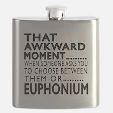 Euphonium Awkward Moment Designs Flask
