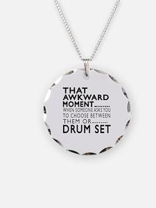 Drum Set Awkward Moment Desi Necklace