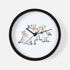 Funny Mocking Sheep Wall Clock