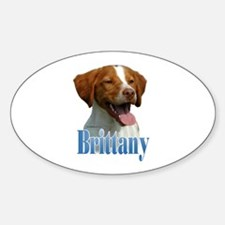 BrittanyName Oval Decal