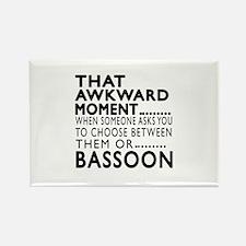 Bassoon Awkward Moment Designs Rectangle Magnet