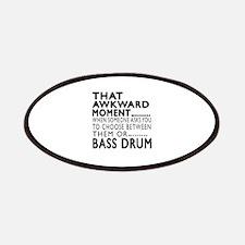 Bass drum Awkward Moment Designs Patch