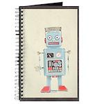 Retro Toy Robot Art Journal