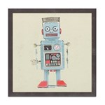 Retro Toy Robot Art Tile Drink Coaster