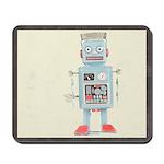 Retro Toy Robot Art Mousepad