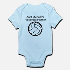 Aunts Volleyball Partner Body Suit