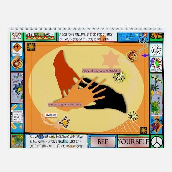 Diversity Hands Quilt Wall Calendar
