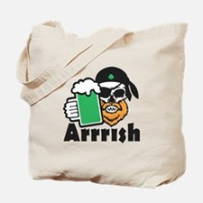 Arrrish Tote Bag