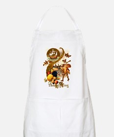 Autumn Harvest BBQ Apron