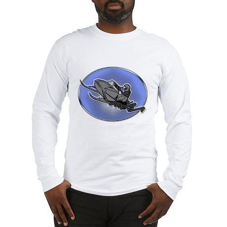 snowmobling Long Sleeve T-Shirt