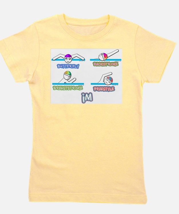 Cute Girl swimmer Girl's Tee