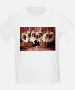 Funny Cute in basket T-Shirt