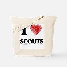 Cute Girl scout Tote Bag