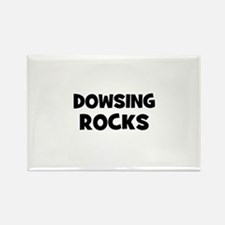 Dowsing Rocks Rectangle Magnet