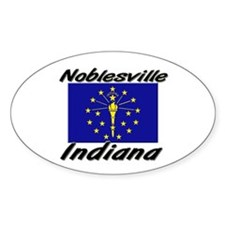 Noblesville Indiana Oval Decal