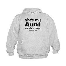 Aunt is single Hoodie