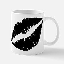 Black Lips Kiss Mugs