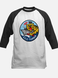 USS Turner (DDR 834) Kids Baseball Jersey