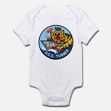 USS Turner (DDR 834) Infant Bodysuit